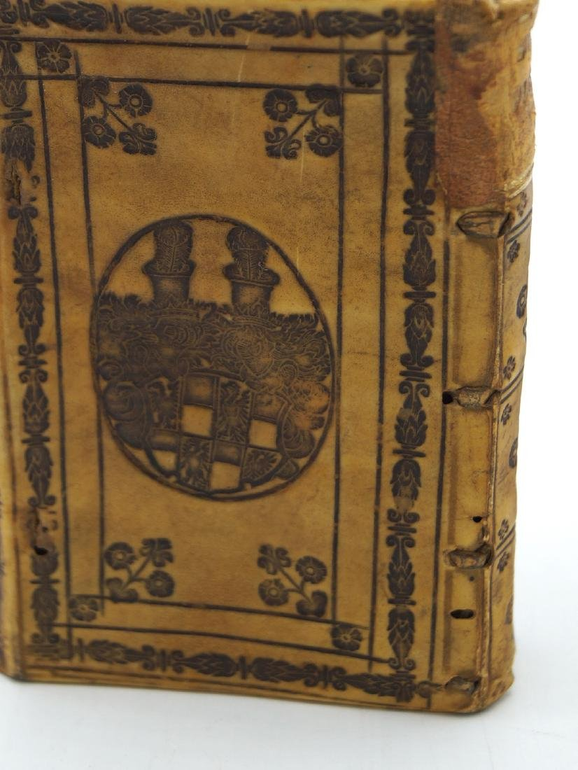 "VELLUM BOUND LATIN BOOK 4.25""H 3""W - 4"