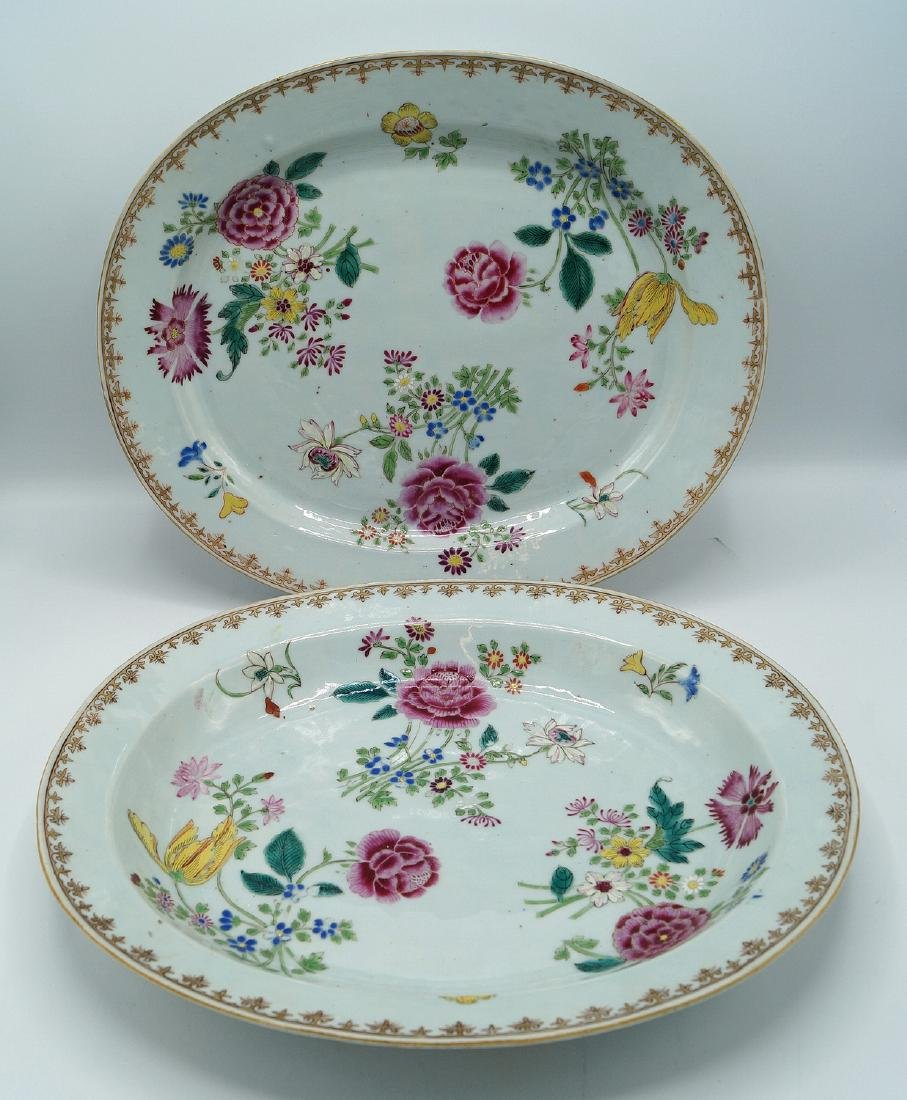 PR. CHINESE EXPORT OVAL PLATTERS