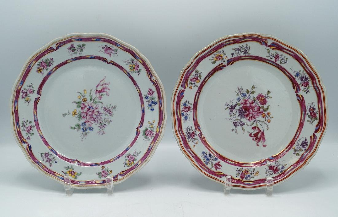 PR. CHINESE EXPORT PORCELAIN PLATES