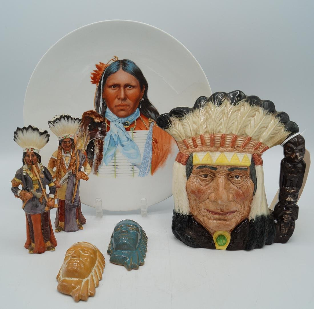 GROUP NATIVE AMERICAN ITEMS