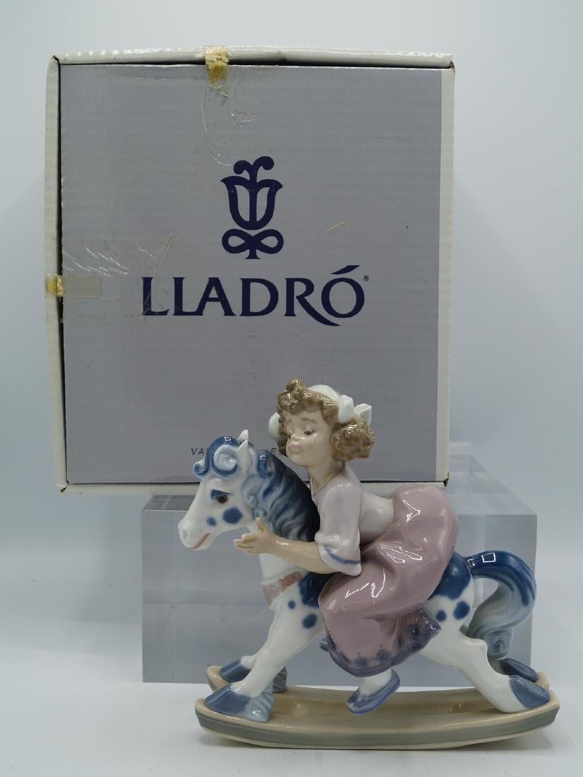 "LLADRO ""FAITHFUL STEED"" #5769 W/ BOX  BRILLO FINISH"