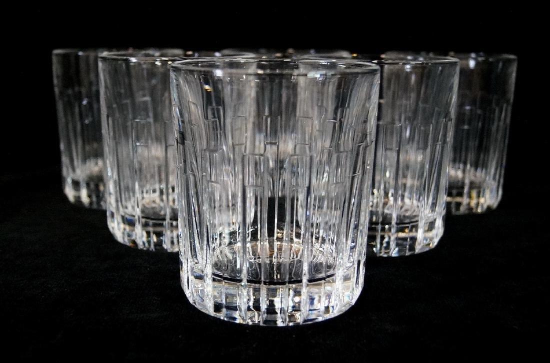 6 TIFFANY & CO HIGH BALL GLASSES