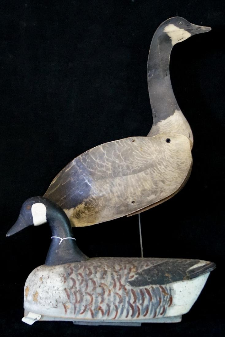 2 VINTAGE DECOYS; 1 CORK BODY