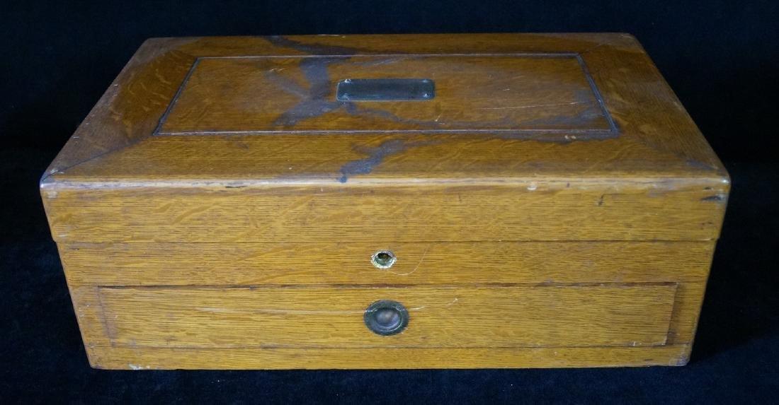 19TH C. GORHAM WOOD BOX
