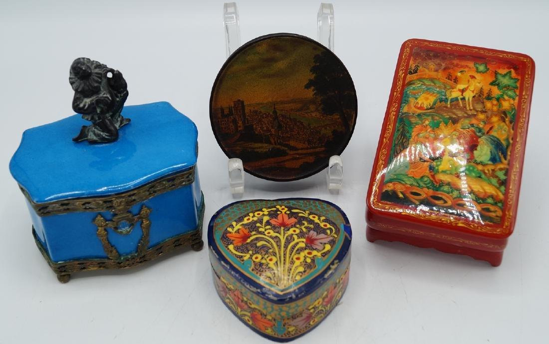 LOT 4 BOXES INC. RUSSIAN LACQUER