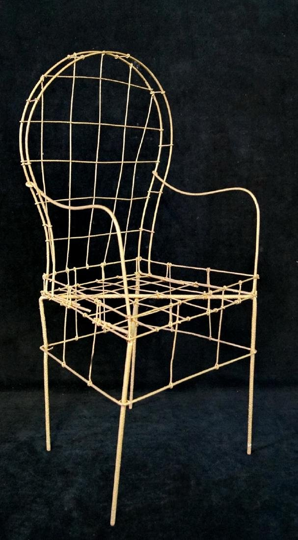 FRENCH WIRE CHILDS CHAIR