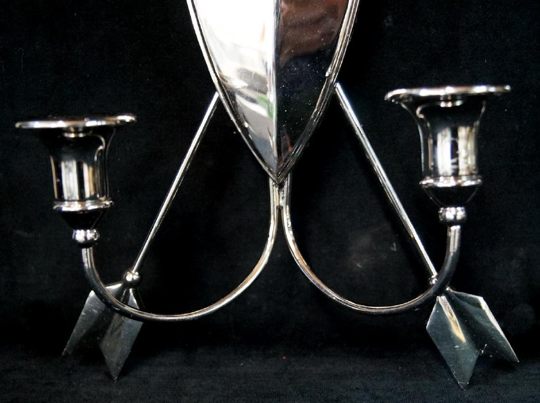 PR. CHROME 2 LIGHT SCONCES - 3