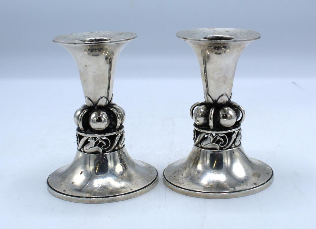 PR. INTERNATIONAL SILVER CANDLESTICKS
