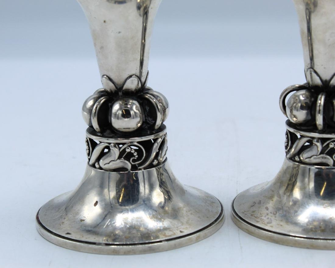 PR. INTERNATIONAL SILVER CANDLESTICKS - 2