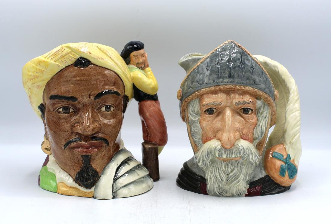 2 ROYAL DOULTON TOBY MUG/JUGS DON QUIXOTE &