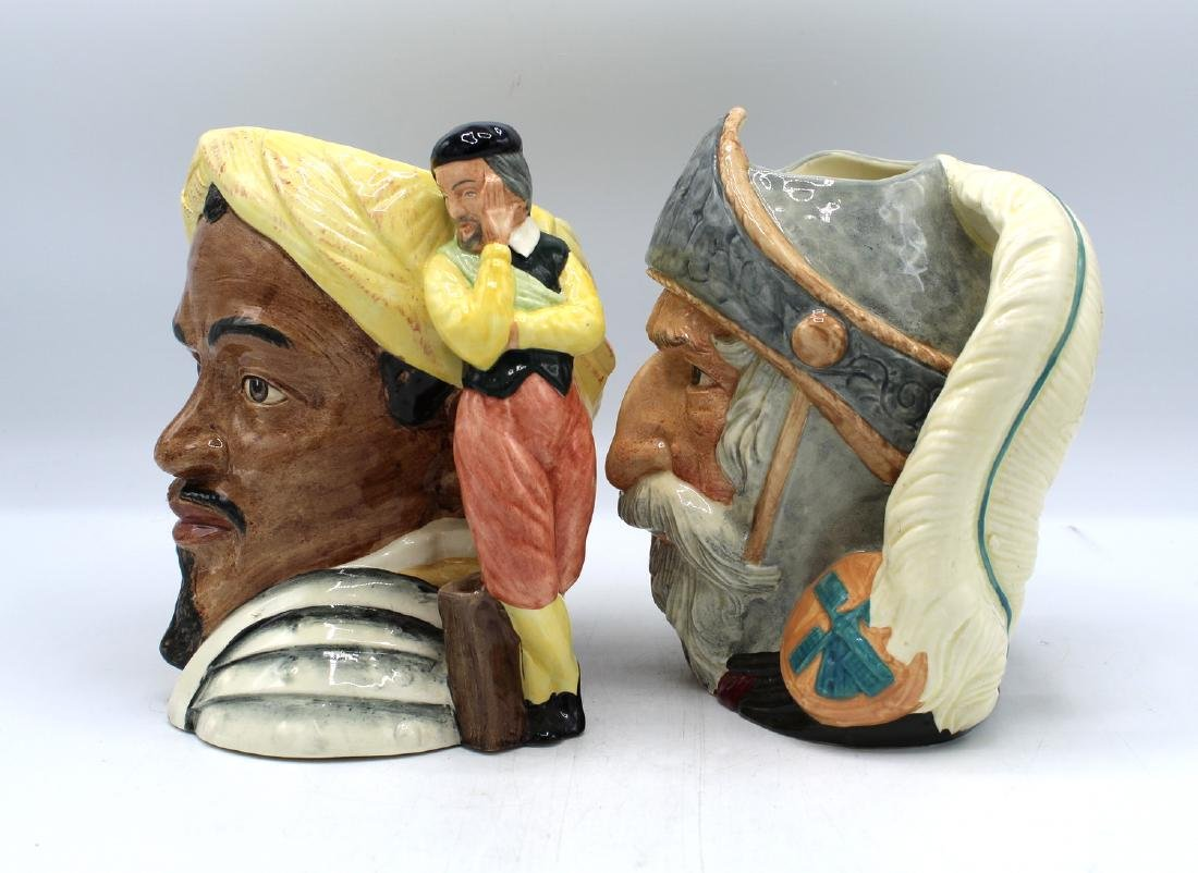 2 ROYAL DOULTON TOBY MUG/JUGS DON QUIXOTE & - 2