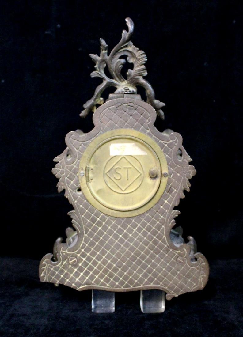 SETH THOMAS  METAL CLOCK (BATTERY MOVEMENT) - 4