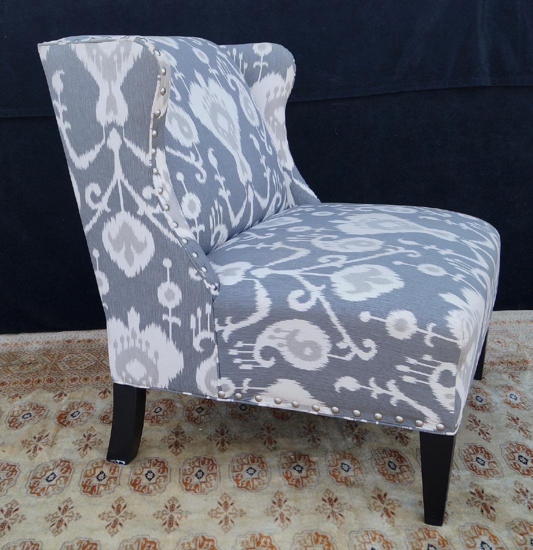 CONTEMPORARY WING CHAIR - 3