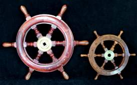 ANTHONY BARATTA: 2 SHIPS WHEELS
