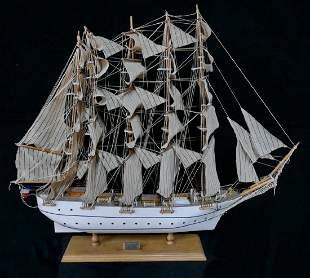 MODEL FRENCH CLIPPER SHIP