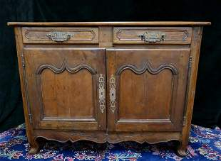 18TH C. FRENCH FRUITWOOD  COMMODE