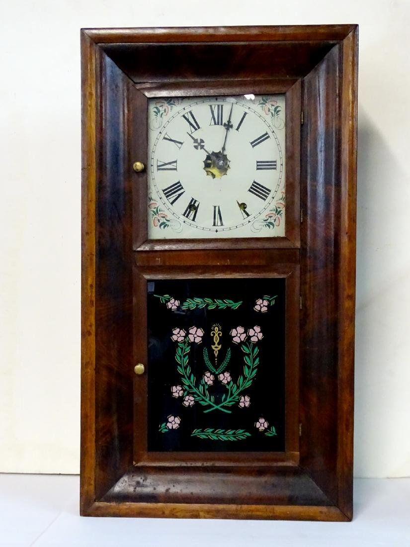 CHAUNCEY JEROME & CO (CONN.) OGEE SHELF CLOCK