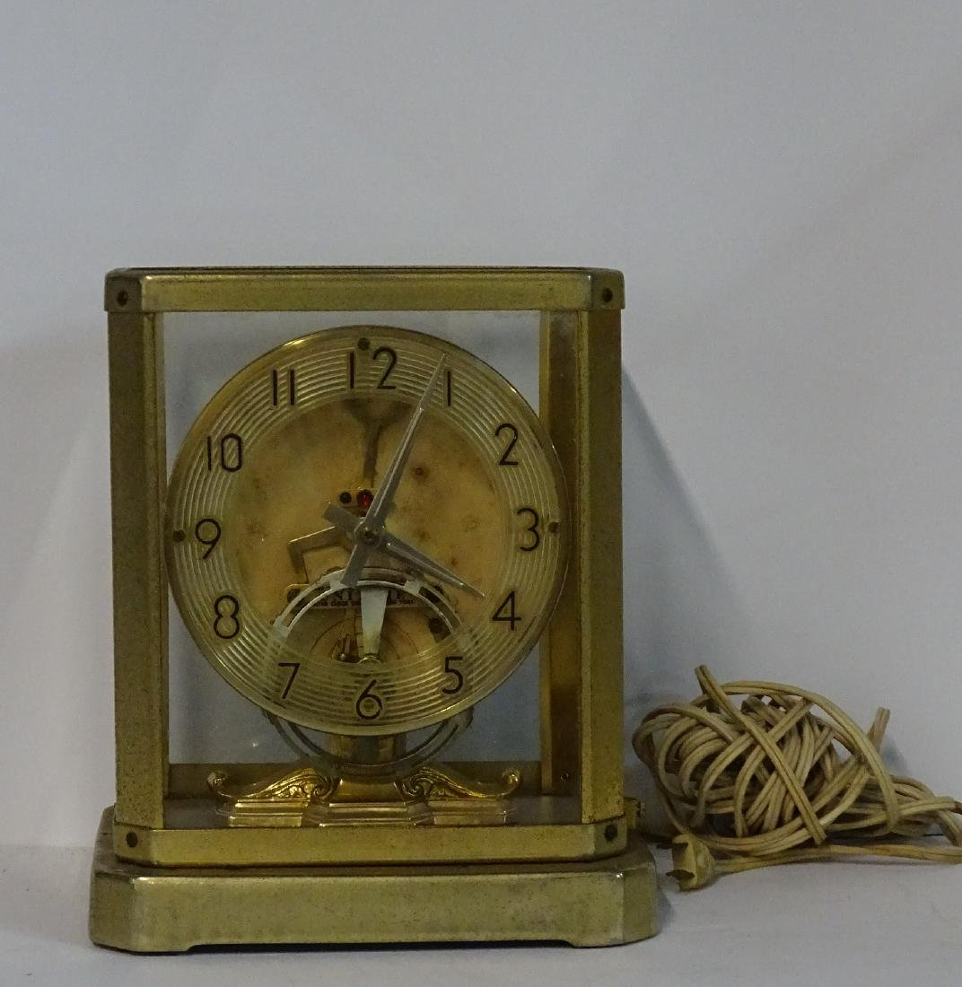 UNITIME UNITED CLOCK CO. N.Y. BRASS & GLASS ELECTRIC