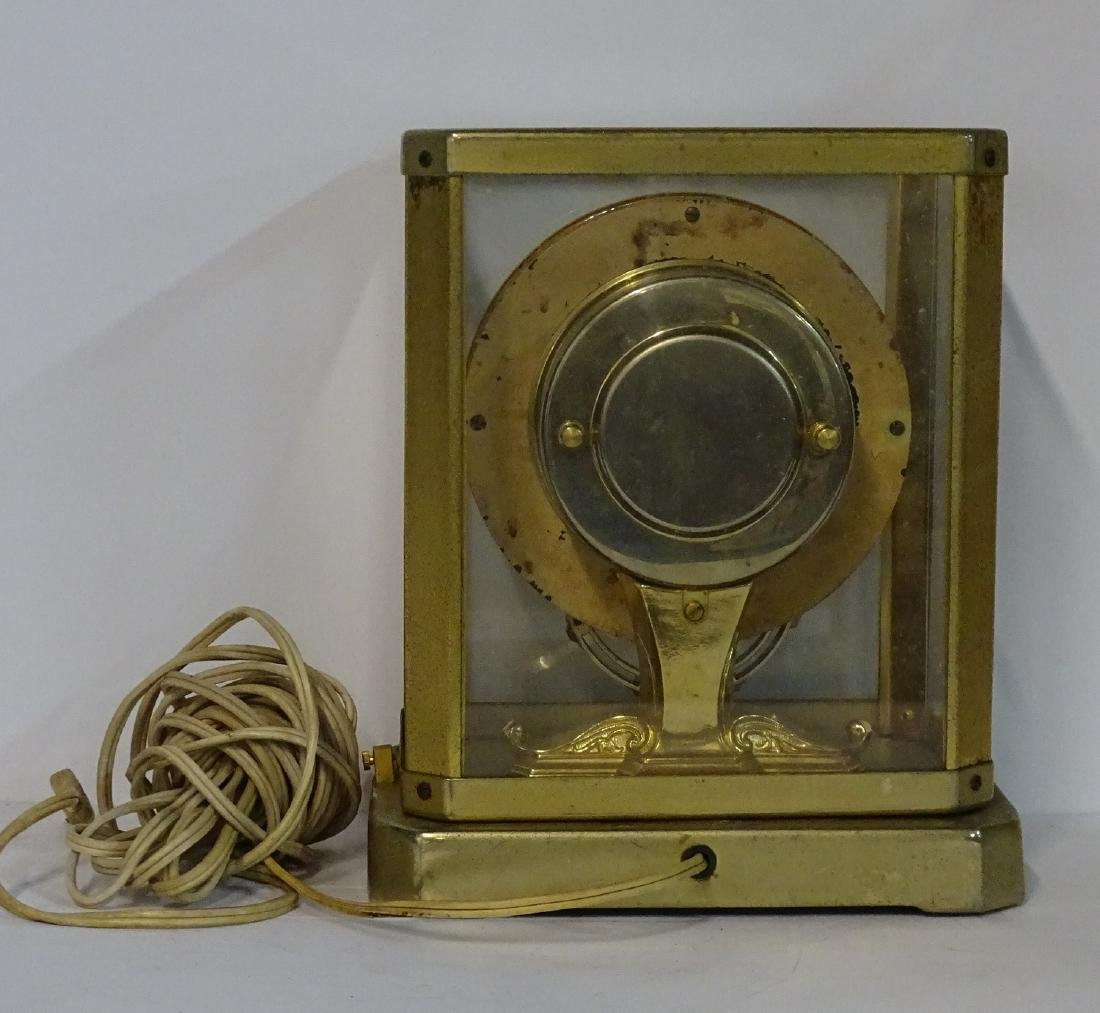 UNITIME UNITED CLOCK CO. N.Y. BRASS & GLASS ELECTRIC - 3