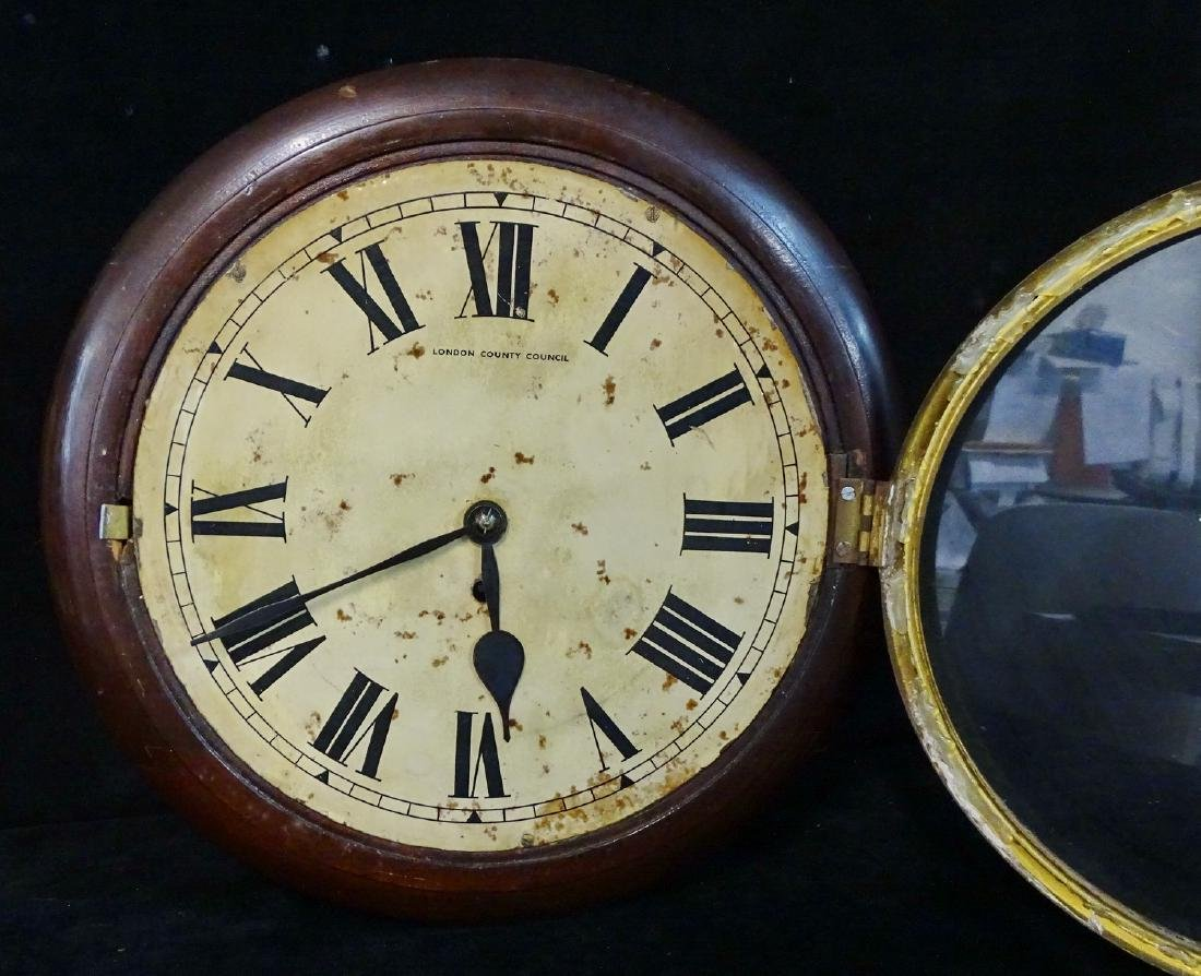 2 19TH C. LONDON & BOLTON GALLEY CLOCKS - 4