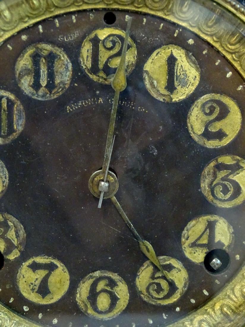 ANSONIA METAL MANTLE CLOCK - 3
