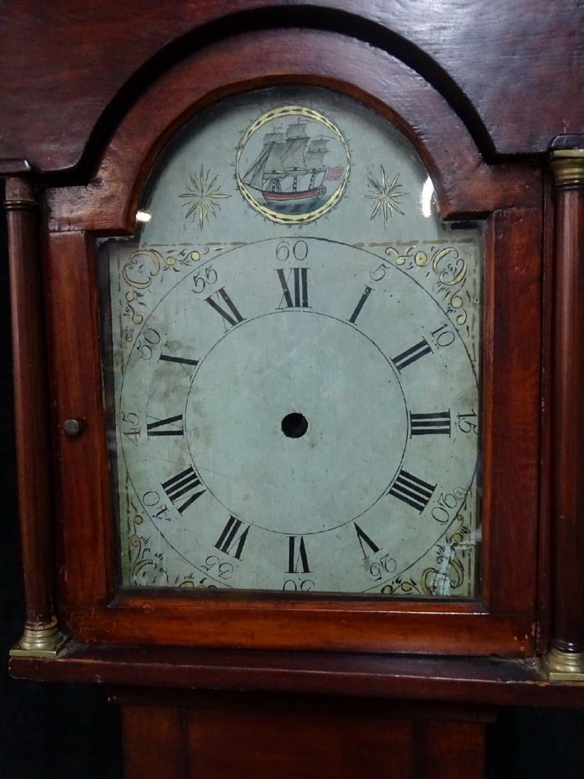 18TH/19TH C. AMERICAN TALLCASE CLOCK - 2