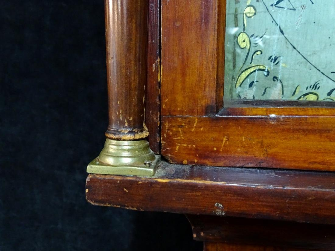 18TH/19TH C. AMERICAN TALLCASE CLOCK - 5
