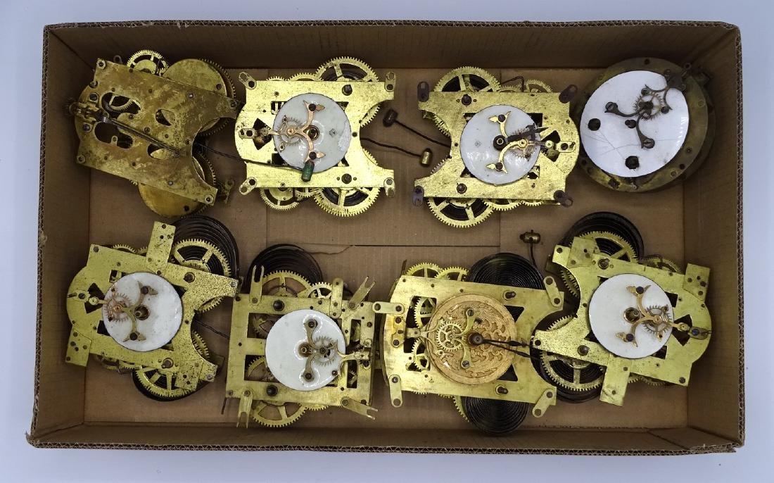 BOX 8 CLOCK MOVEMENTS INC. ANSONIA