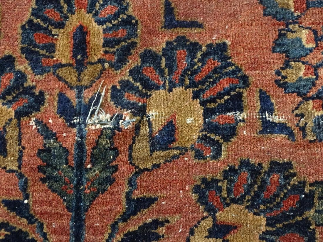 ANTIQUE SAROUK RUG C. 1920 - 6