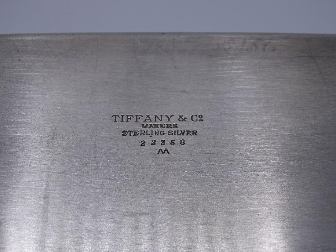 TIFFANY & CO. MAKERS STERLING SILVER BOX - 3
