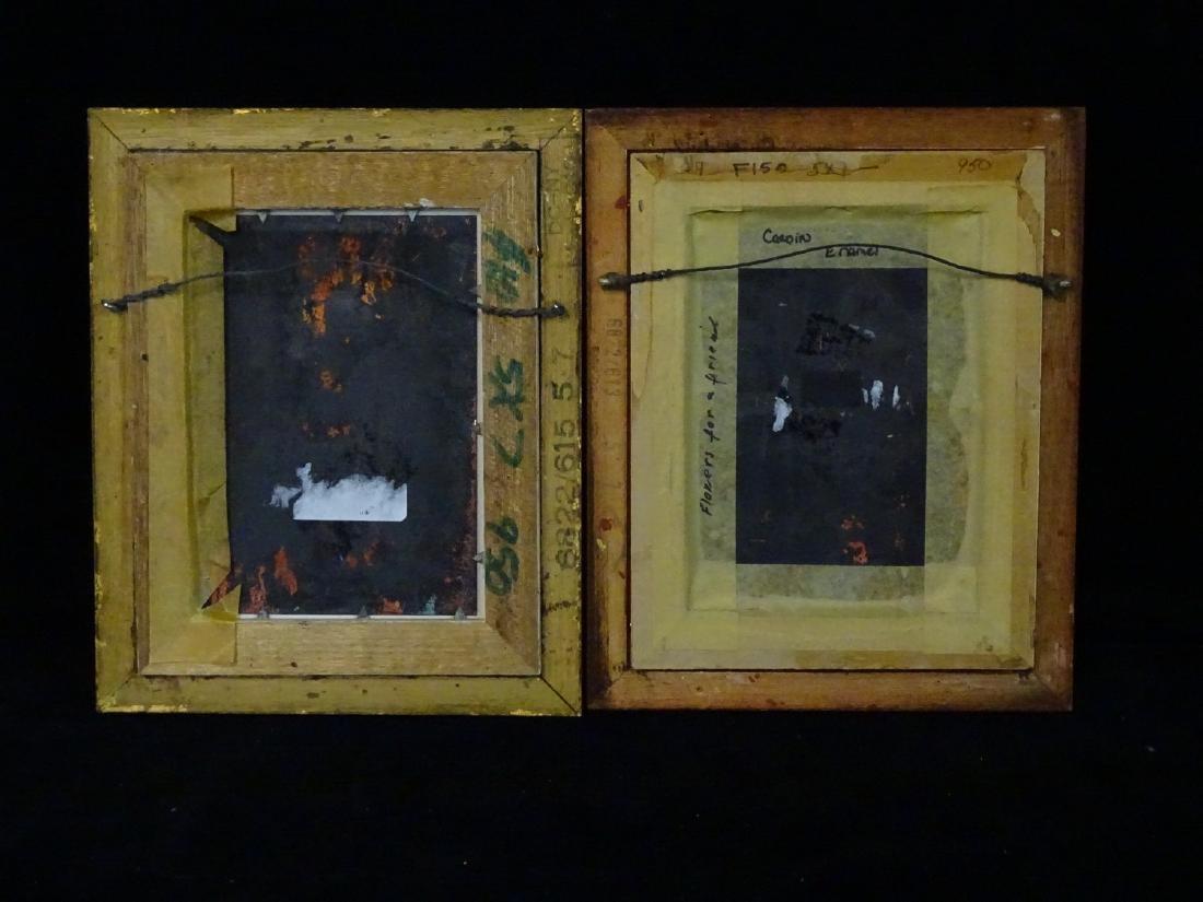 PR. DIMINUTIVE ENAMEL ON COPPER PICTURES - 4