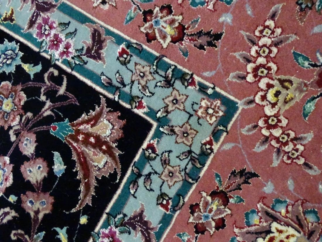 ORIENTAL RUG WITH FLORAL MOTIF 12' X 9' - 3