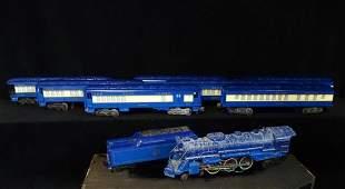 LIONEL BLUE COMET TRAIN INC. ENGINE & TENDER