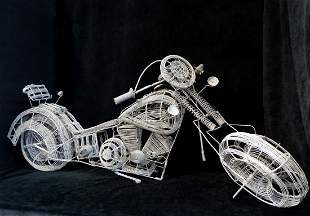 WIRE MOTORCYCLE MODEL