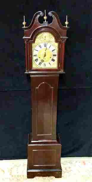 C. 1900 GERMAN GRANDMOTHER CLOCK