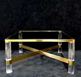 KARL SPRINGER SGN. COCKTAIL TABLE