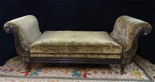 EMPIRE STYLE UPHOLSTERED DAY BED