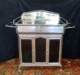 DECO CHROME WASHSTAND