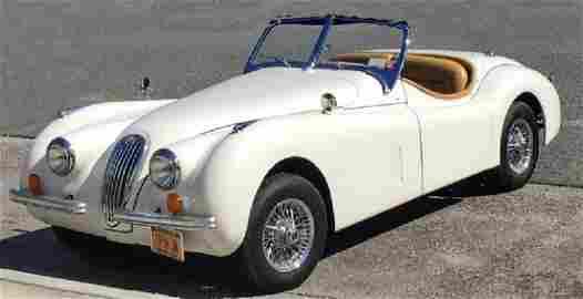 1954 JAGUAR XK 120 REPLICA