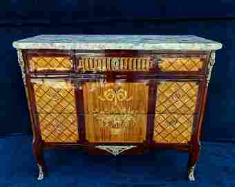 LATE 19TH C. LOUIS XVI STYLE  COMMODE