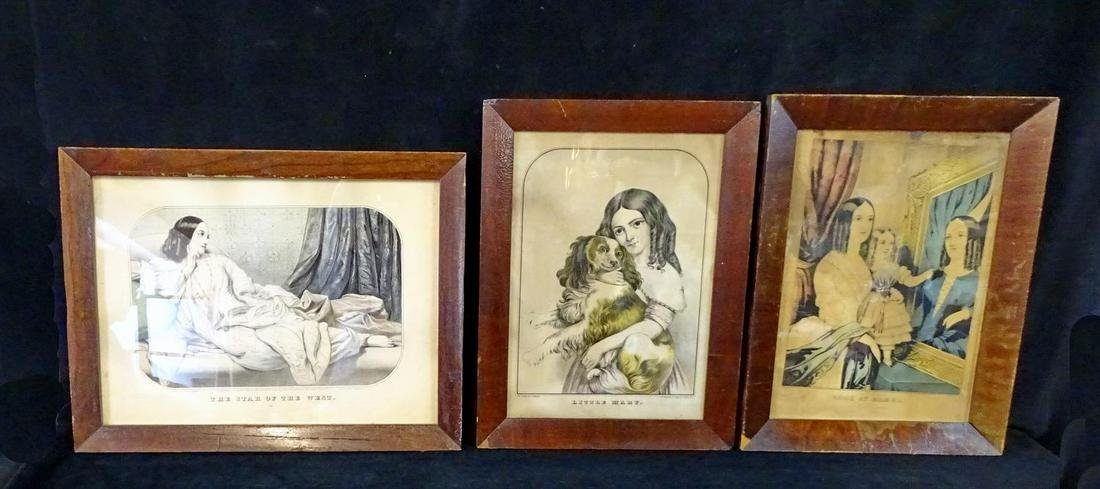 LOT CURRIER PRINTS INC. LITTLE MARY
