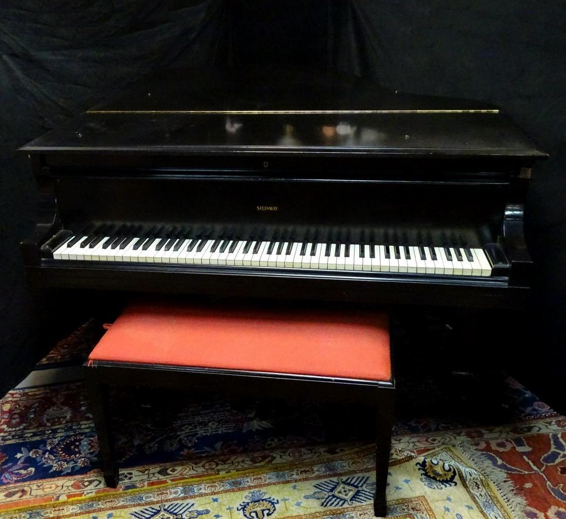 1910 STEINWAY GRAND PIANO MODEL L #141436