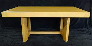 WIDDICOMB DINING TABLE WITH 2 LEAVES