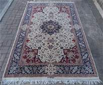 "SGN. PERSIAN AREA RUG 9'4"" X 6'1"""