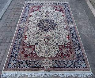 """SGN. PERSIAN AREA RUG 9'4"""" X 6'1"""""""