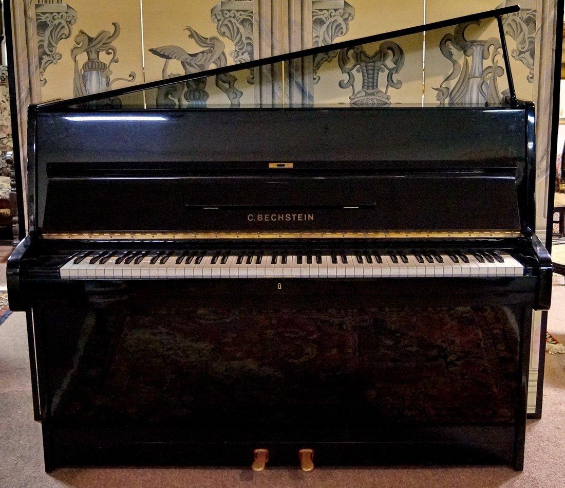 BECHSTEIN CONSOLE PIANO & BENCH