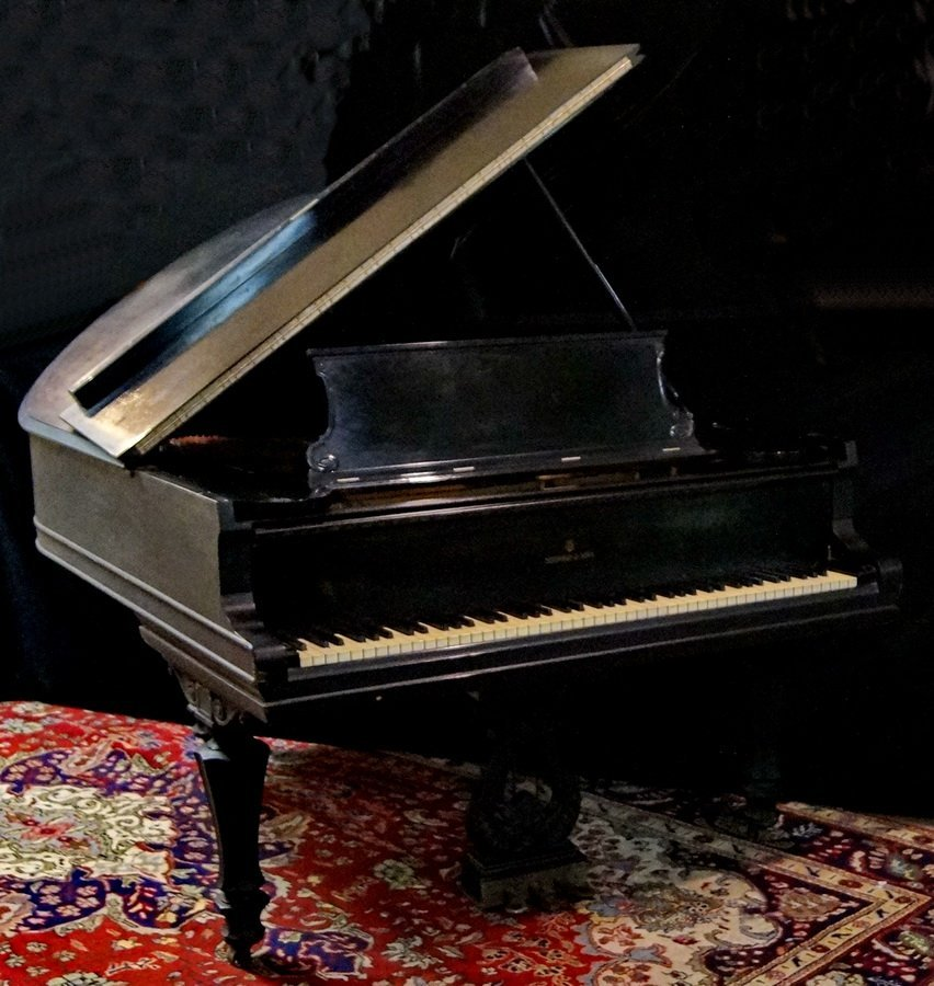 STEINWAY BABY GRAND PIANO MODEL A SERIAL # 78759