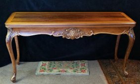 Louis Xv Style Inlaid Live/dine Table