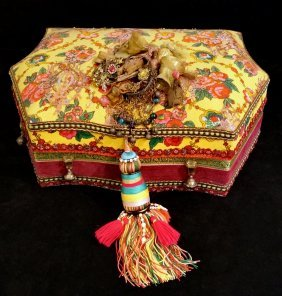 Decorated Middle Eastern Box