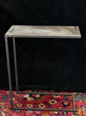 Group Of 3 Modern Metal Tables